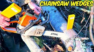 What are Chainsaw Wedges Used For?
