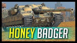 ► Honey Badger FV217 Doesn't Care - World of Tanks FV217 Badger Gameplay