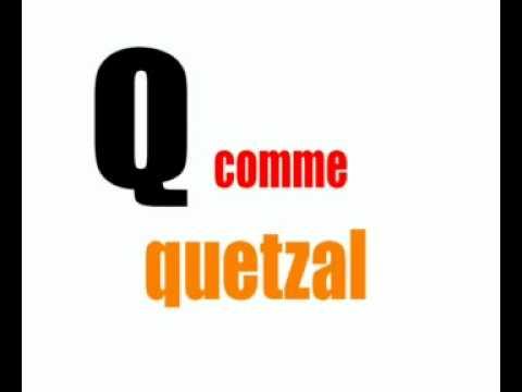 Lezione di francese = gli animali alfabeto