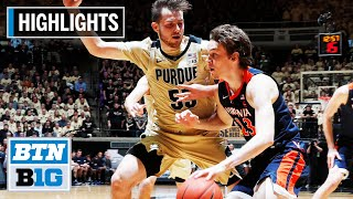 Highlights: Boilermakers Blow Out Cavaliers | Virginia at Purdue | Dec. 4, 2019