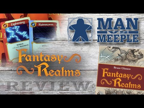 Fantasy Realms (WizKids) Review by Man Vs Meeple