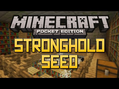 NEW STRONGHOLD SEED Minecraft Pocket Edition 0.10.4 End Portal Seed
