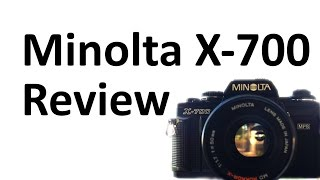 Minolta X-700 Review and Sample Photos