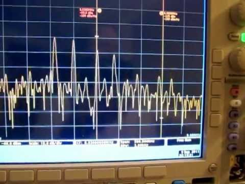 Ham radio Band-scope pan-adapter using Tek MDO4000 as a spectrum analyzer
