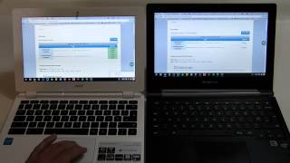 Chromebook 2GB vs 4GB Demo