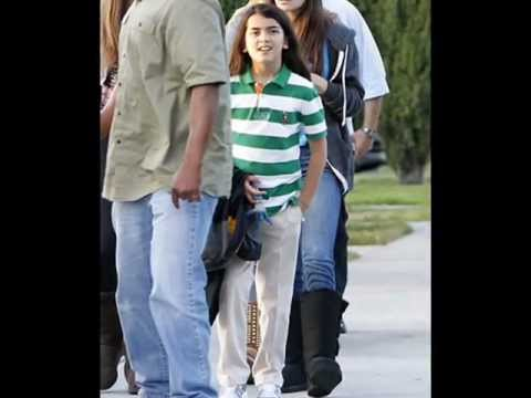 Paris and Blanket Jackson at the movies may 18