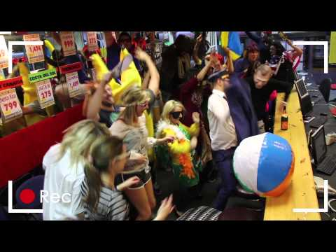 Harlem Shake by The Largest Travel Agency in Ireland