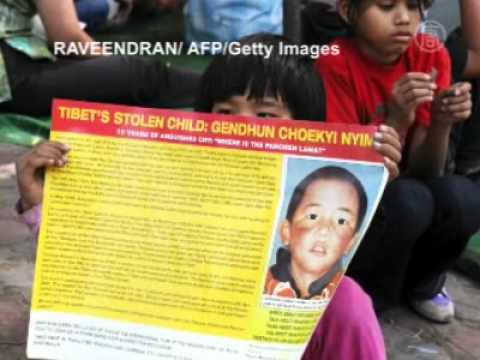 Tibeter fordern die Freilassung des 11. Panchen Lama