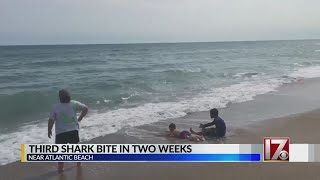 8-year-old boy bitten by shark at NC coast