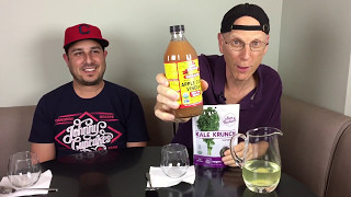 Apple Cider Vinegar, Kale Chips and Cauliflower Water Review/Challenge