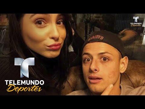 ¡Amor gripiento! El reclamo de Andrea Duro a Chicharito en redes   Deporte Rosa   Telemundo Deportes