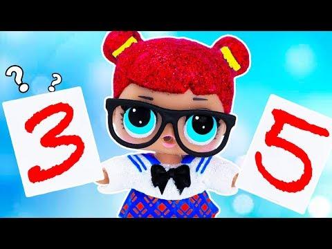 ДВЕ МАМЫ ВМЕСТО ОДНОЙ Мультик #ЛОЛ СЮРПРИЗ Школа Куклы Игрушки Для девочек