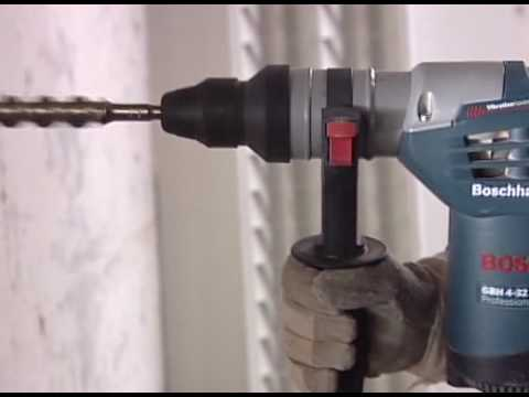 bosch rotary hammer gbh 4 32 dfr professional from youtube. Black Bedroom Furniture Sets. Home Design Ideas