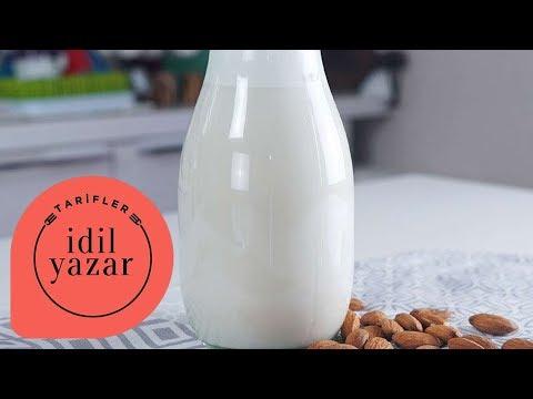 Badem Sütü Nasıl Yapılır ? - İdil Tatari - Yemek Tarifleri