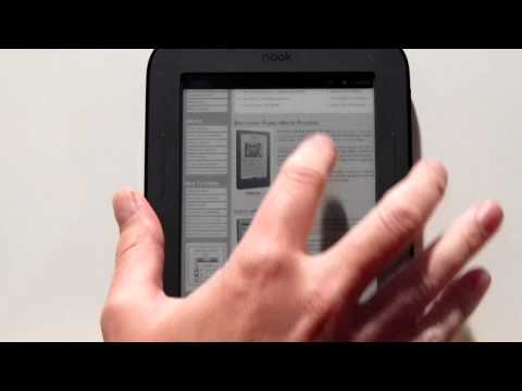 The Nook Touch has a Web Browser - No Root Required!