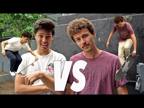 John Hill VS Jonny Giger | Anything On Flatground Counts