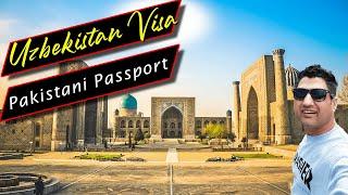 How to Obtain Uzbekistan Visa on Pakistani Passport?