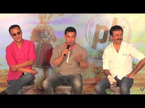 Aamir Khan Rocks At The 2nd Poster Launch Of PK