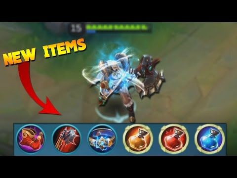 Mobile Legends Hilda Build (New Items & New Potions) Gameplay