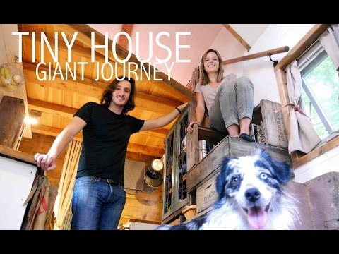 Tiny House Giant Journey- 20' Home on Wheels Hits Philadelphia- FULL TOUR