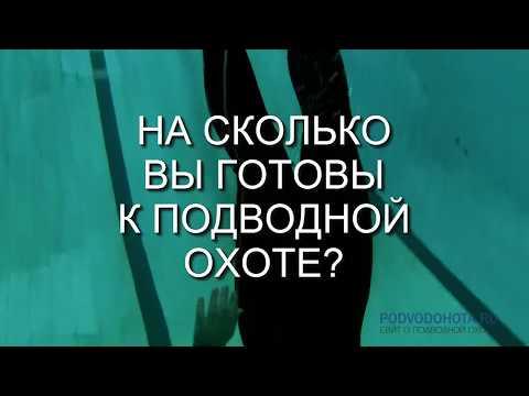 Готовы ли вы к подводной охоте? 3 простых упражнения