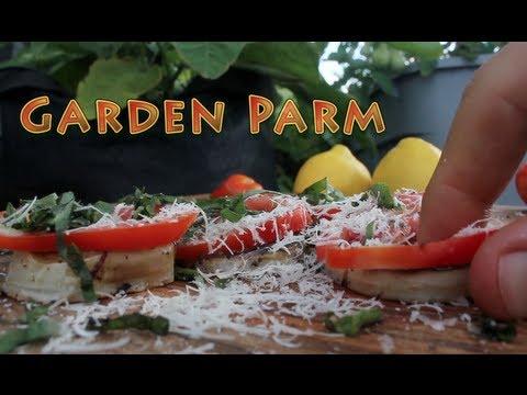 Quickest Eggplant Parm - Brooklyn Rooftop Garden Recipes