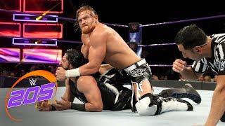 Mustafa Ali vs. Buddy Murphy-  No Disqualification Match: WWE 205 Live, July 3, 2018