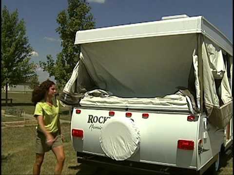 Rockwood Freedom Popup Camper Setup - Factory Video