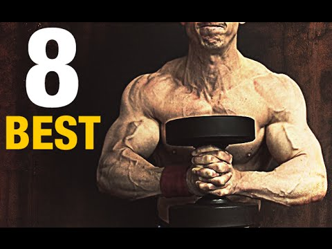 Biceps and chest workout at home with 2 dumbbells how to make amp do