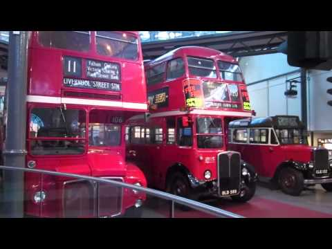 Double Decker bus at London Transport Museum