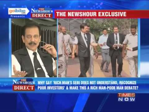 The Newshour Direct: Sahara boss Subrata Roy