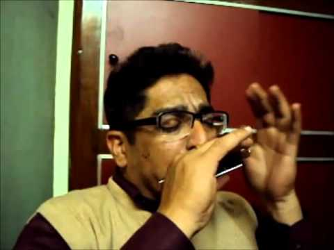 MOUTHORGAN INSTRUMENTAL OF TUMNE MUJHE DEKHA (TEESRI MANZIL)
