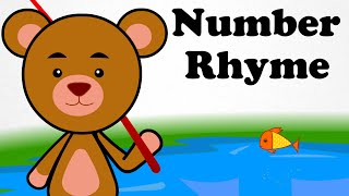 12345 Once I Caught A Fish Alive! | Number Rhymes | Cartoon Nursery Songs For Kids