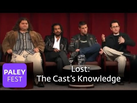 Lost - How Much Does the Cast Know? (Paley Center)