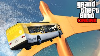 GTA 5: Online - Stunts, Fails & Funny Moments (Demolition Derby, Hunting Pack)