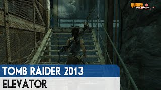 """Tomb Raider 2013 - Puzzle Guide """"Elevator"""" Gameplay (Original)"""