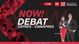 Debat Perdana Capres -Cawapres 2019; Joko Widodo (Jokowi )-Ma'ruf Amin vs Prabowo-Sandi  Bag.1