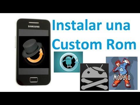 ¿Cómo Instalar una custom ROM en tu Samsung Galaxy Ace? - TheVigoFlax