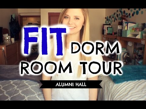 Fashion Institute Of Technology Vlog DORM ROOM TOUR Fashion