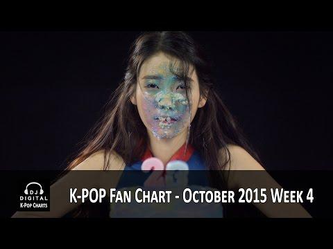 Top K-Pop Songs Chart (Fan Chart) - October 2015 Week 4