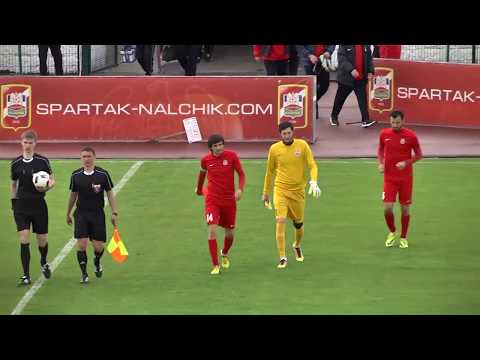 Спартак-Нальчик 0 - 0 Машук-КМВ  | Обзор