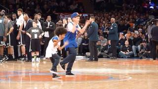 Baby Boogaloo & Jan Voinov at Knicks vs Nets