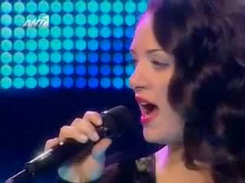 x factor 2009 live show 12 - Nini Shermadini & Ivi Adamou  - den thelo na 3eris & the power of love