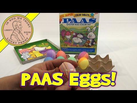 PAAS Super Color Tablets Easter Egg Color Kit, 2000