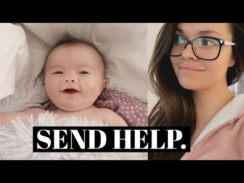 THIS HAS BEEN REALLY HARD. | DAY IN THE LIFE WITH A BABY AND A TODDLER VLOG