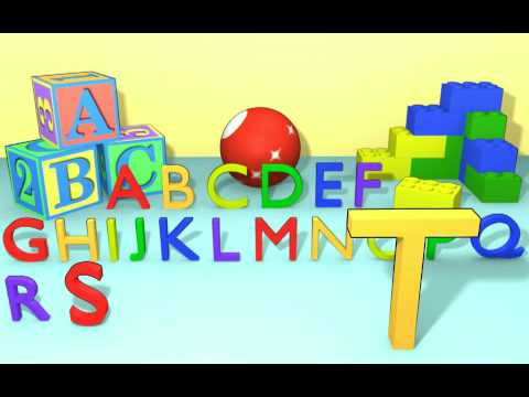ABC song - Colorful alphabet letters A-Z - learning for kids