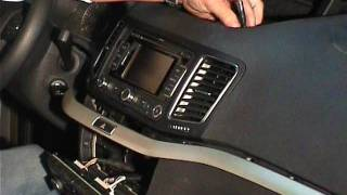 Radio Seat Alhambra / Radio Volkswagen Sharan / How to remove radio unit on Alhambra