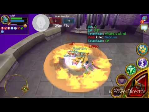 Arcane Legends PVP: Wish vs Piarium