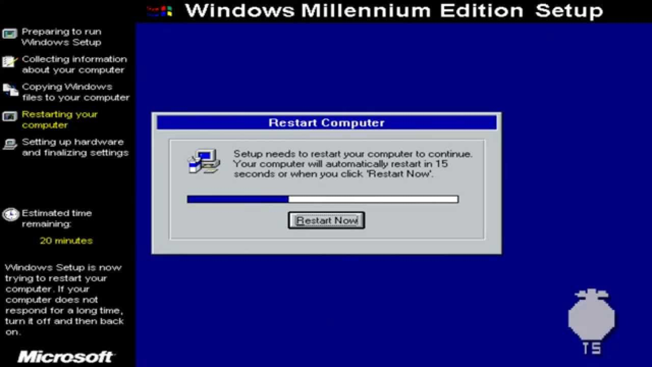Windows me Box Windows me Millennium