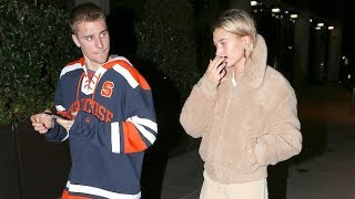 Hailey Baldwin Debuts New Hairstyle On Date Night With Justin Bieber Exclusive
